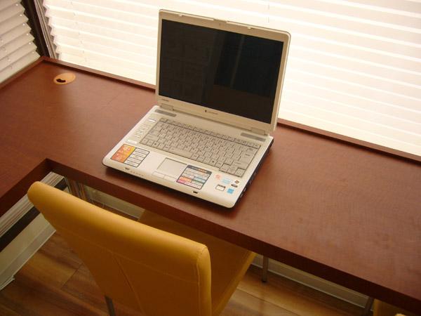待合室、インターネット完備
